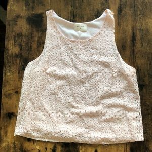 Everly Pink Crop Top
